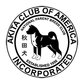 Akita Club of American logo for footer.